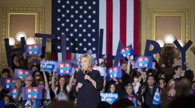Hillary campaign faces a deficit of a vital commodity, enthusiasm