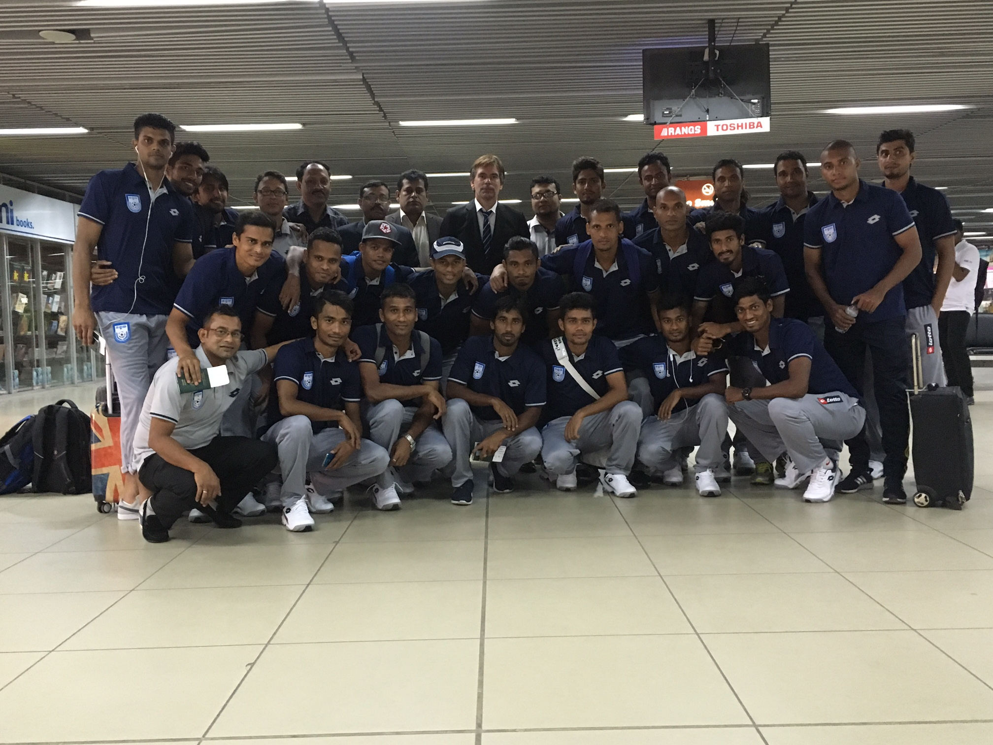 National booters off to Tajikistan